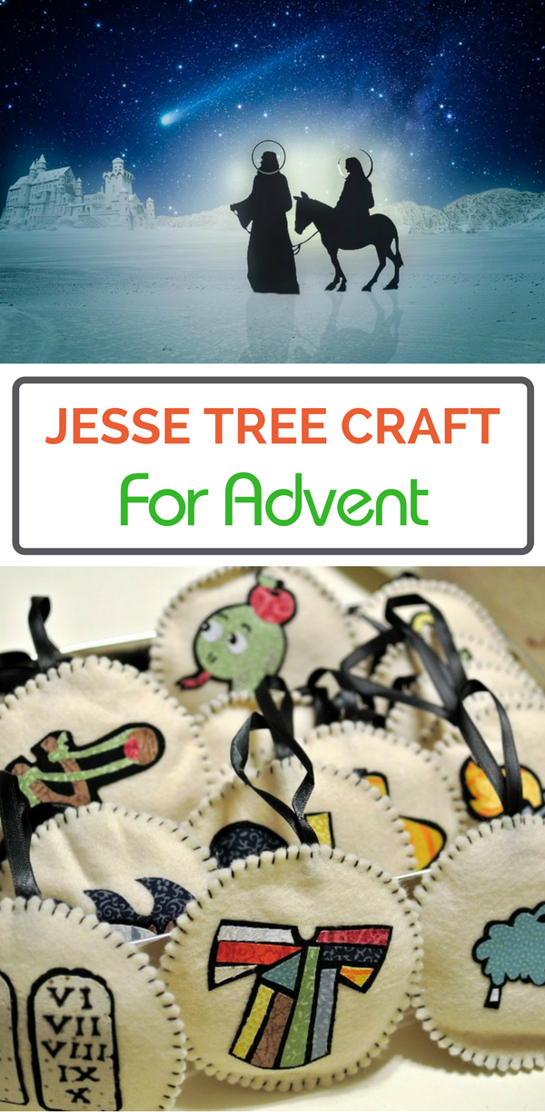 The Jesse Tree is a great family tradition for Advent.