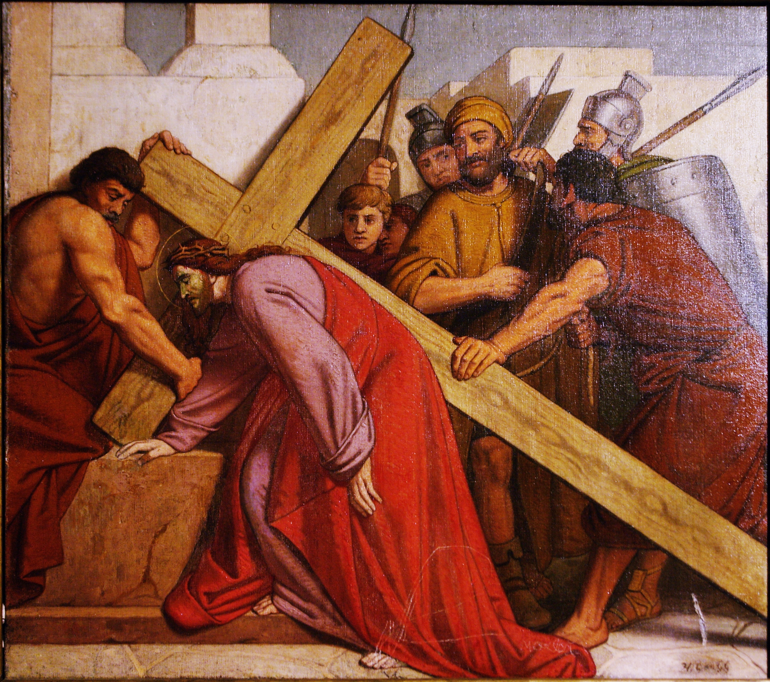 The most common Lent Tradition, The Stations of the Cross.