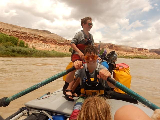 Zero cell service on 3 multi-day trip down the Colorado River!