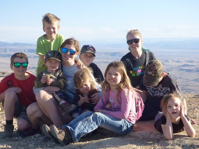 Hanging out on the top of Mt Garfield in Grand Junction, CO!