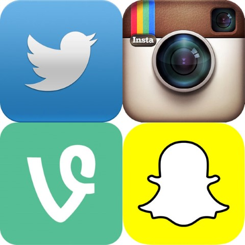 Social Media is the easiest way to stay in touch while traveling!!