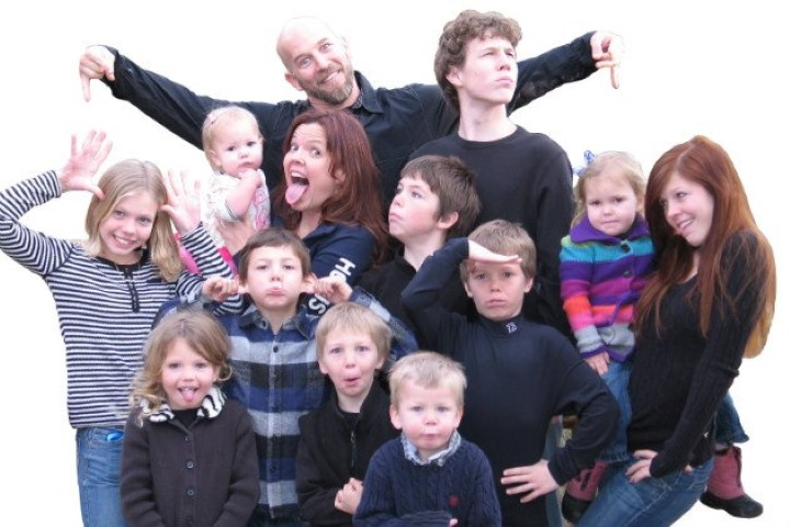 This was back when we had only 11 kids.