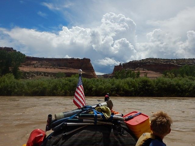 We floated the Colorado for 3 days, never saw even on other person the entire time!