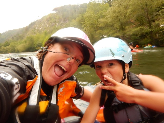 Me and My Mommy kayaking the Ocoee River together!