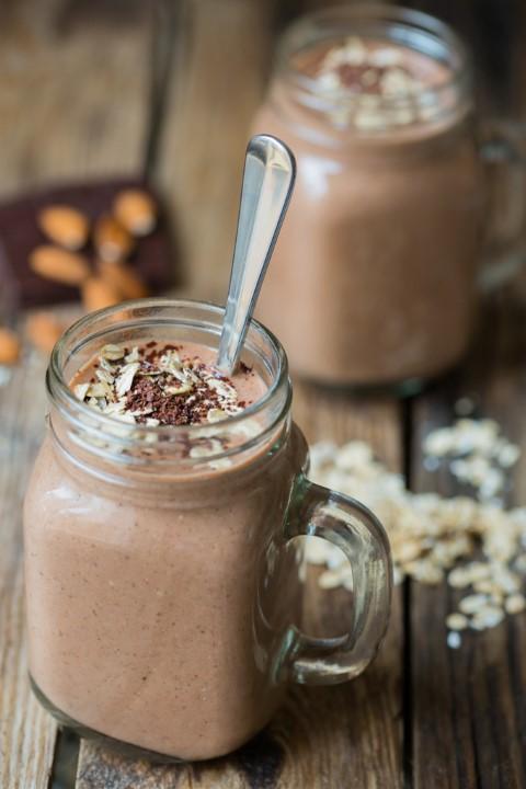 Yummy Hot Chocolate Smoothie!  Photo Credit:  KitchenSanctuary.com