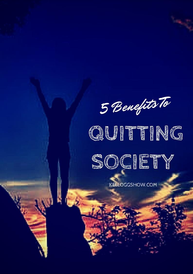 Quitting Society