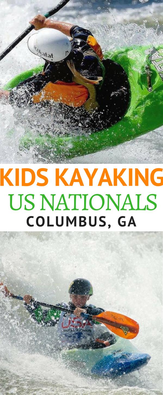 Kids Kayaking in Columbus, GA!