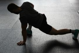 No equipment necessary in a HIIT workout!