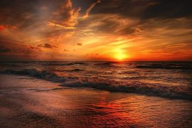 Sunrises are one of several must-see Things to do in Virginia Beach!