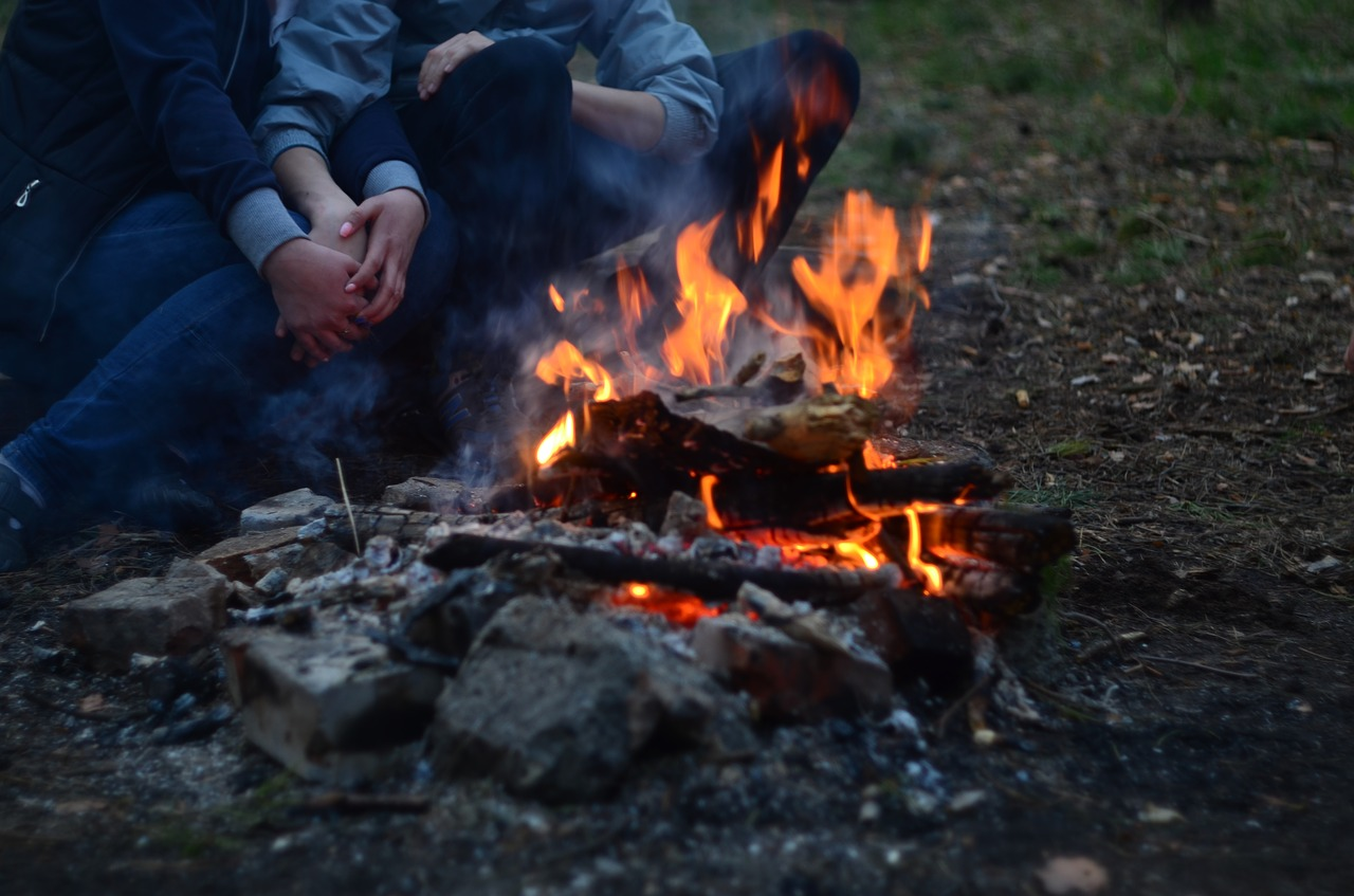 Fall Camping Tips include romance!