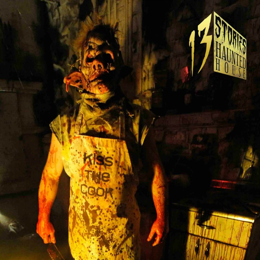 13 Stories Haunted House is famous for its Halloween Event in the US.