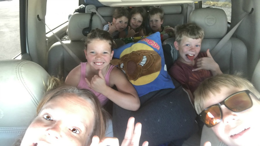 Movies and Candy make for a Really Great Road Trip With Kids!