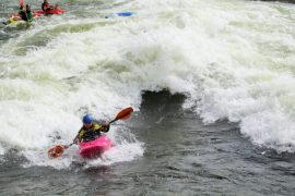 Kayaking Kids surf M-Wave