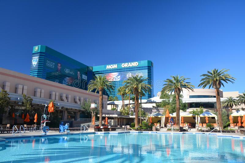 Luxury pool are Romantic Things To Do In Las Vegas!