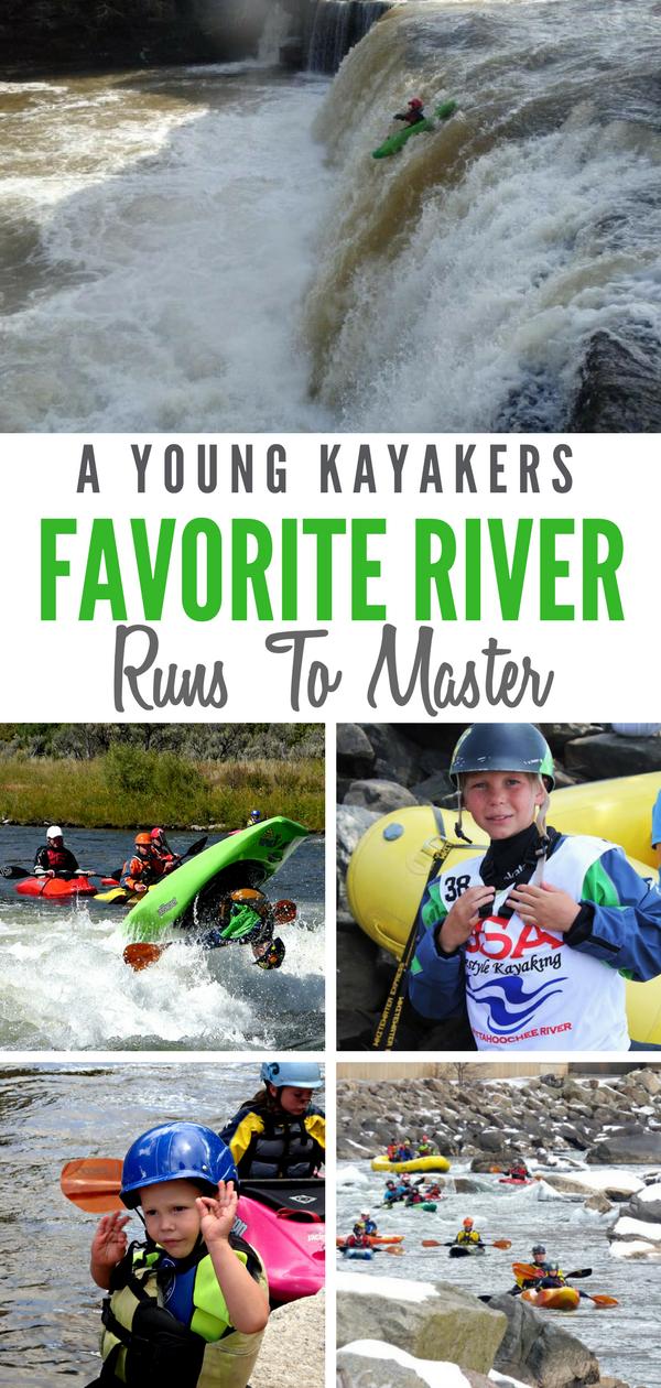 Kids Kayaking Favorite River Runs in North America