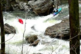 KelloggShowKids Whitewater Kayaking