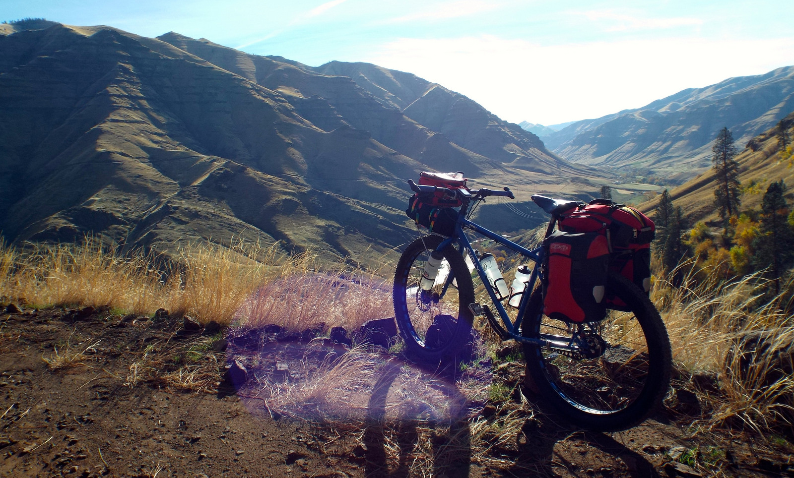 Biking is always one of the top Free Things To Do In Idaho