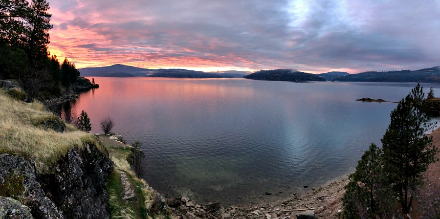Sunrises are the Best Free Things To Do In Idaho!