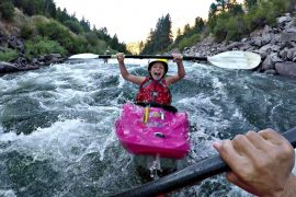 Kids Kayaking: KelloggShowKids Slay The Main.