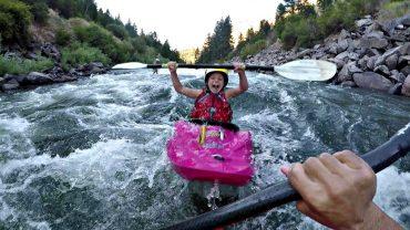Kids Kayaking: KelloggShowKids Slay The Main.