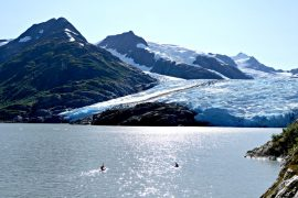The KelloggShow Family Tells All about Paddling to Portage Glacier in Girdwood, AK!