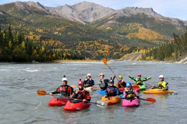 Alaska Whitewater: Paddling the Nenana River in Denali National Park.