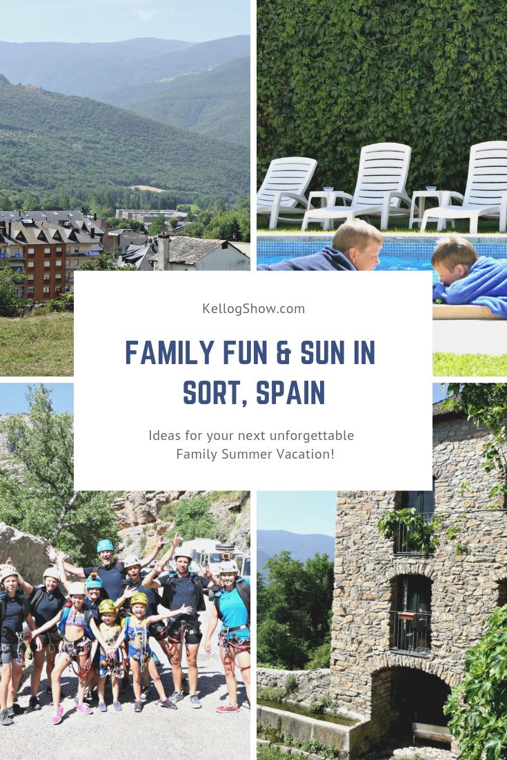 Family Fun in Sort, Catalonia, Spain