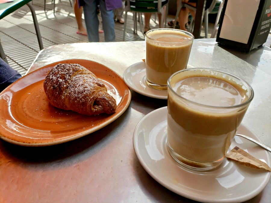 The pastries in Sort, Catalonia, Spain are legit amazing, and cheap!