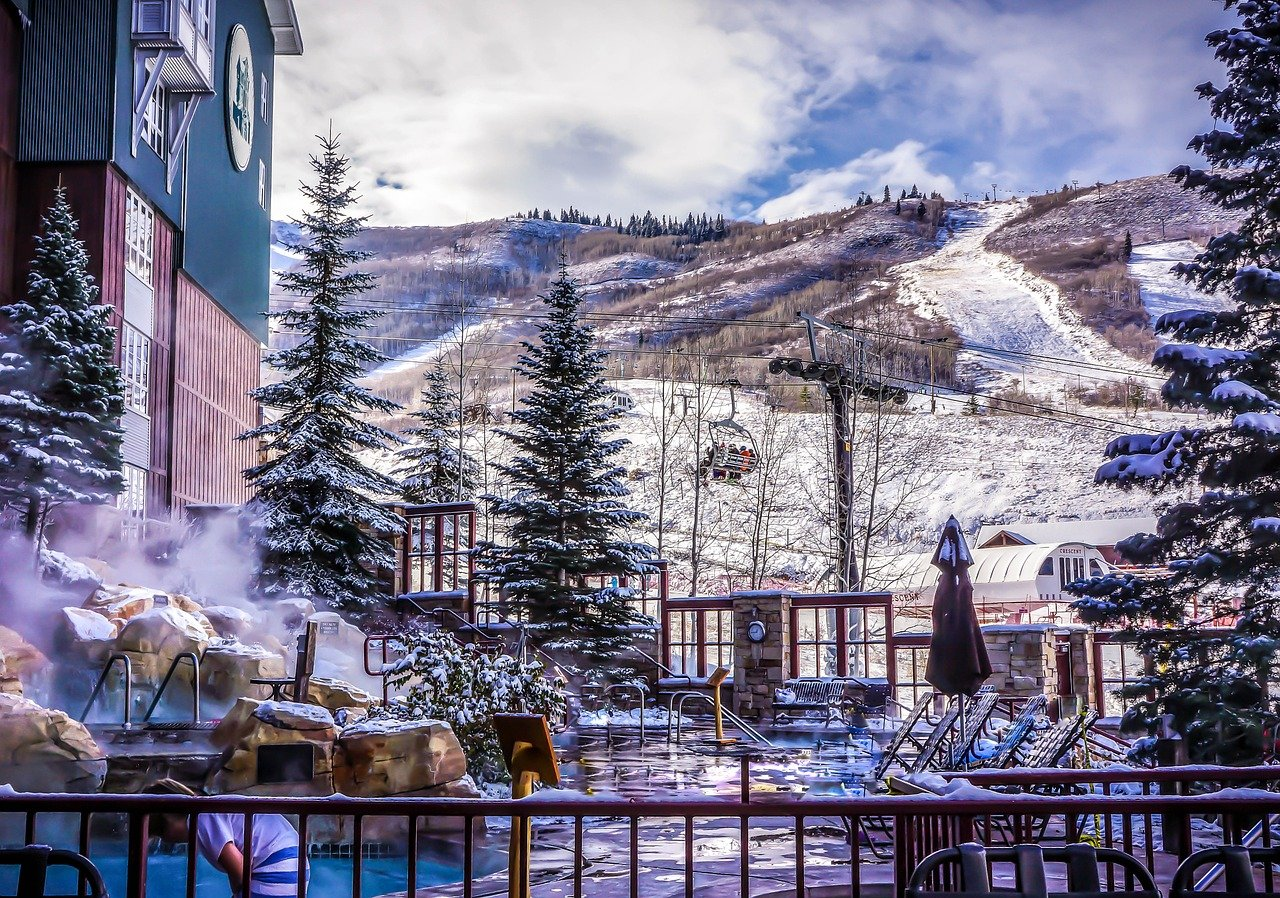 Distance Learning at Ski Resort