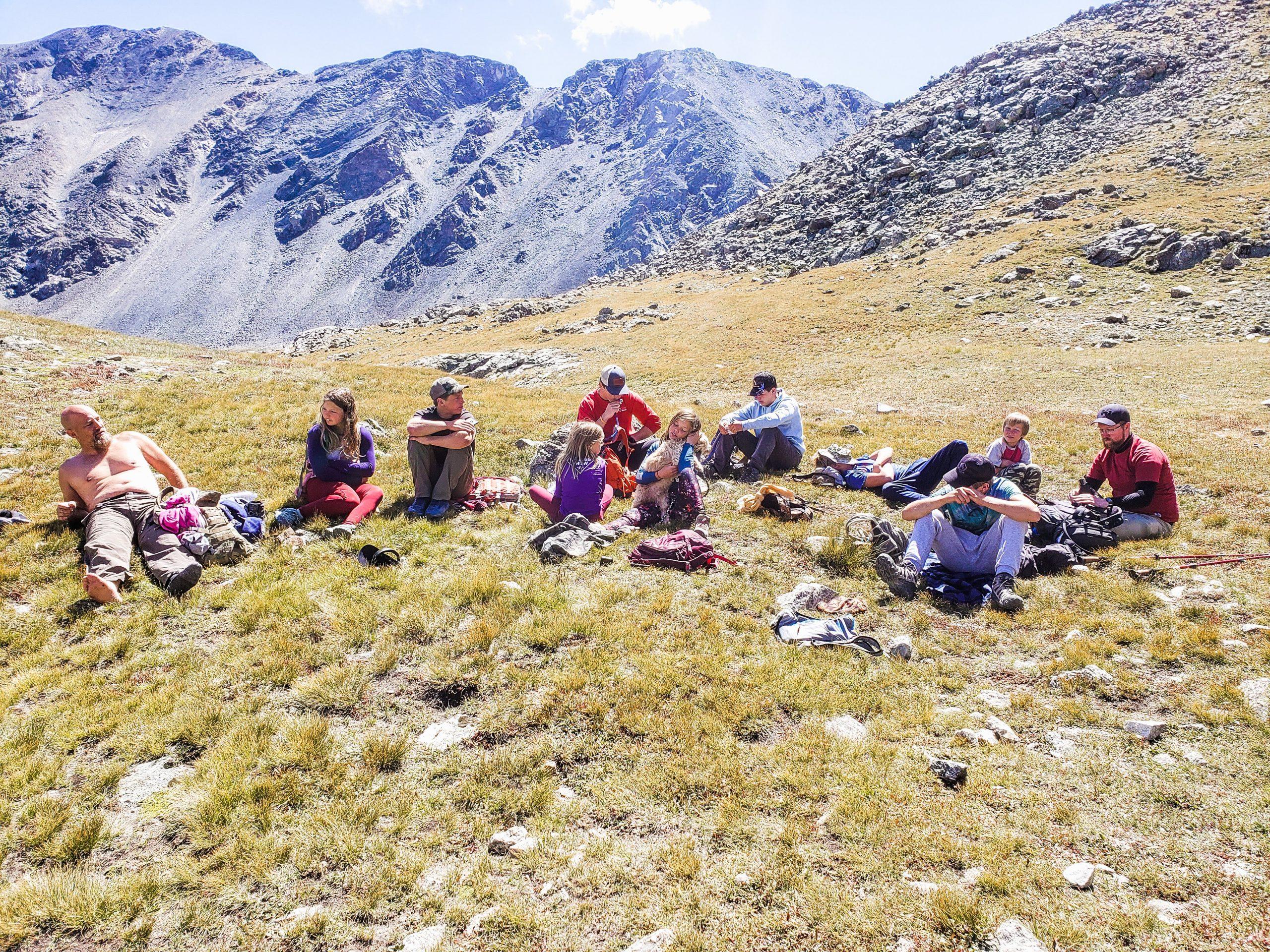 Hiking Grays and Torreys
